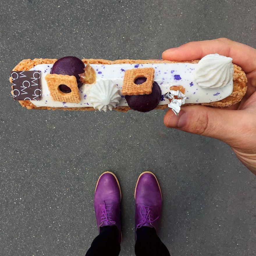 Paris Craziest Desserts For The Season Matched With Men Shoes