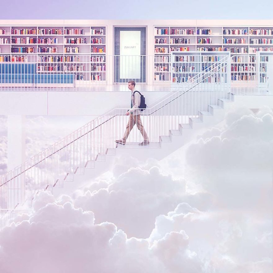 Bookstore In The Sky