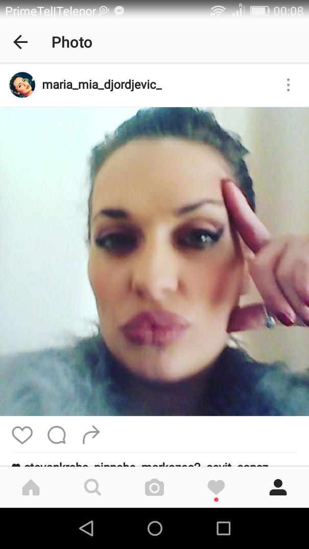 Serbian Angelina Jolie