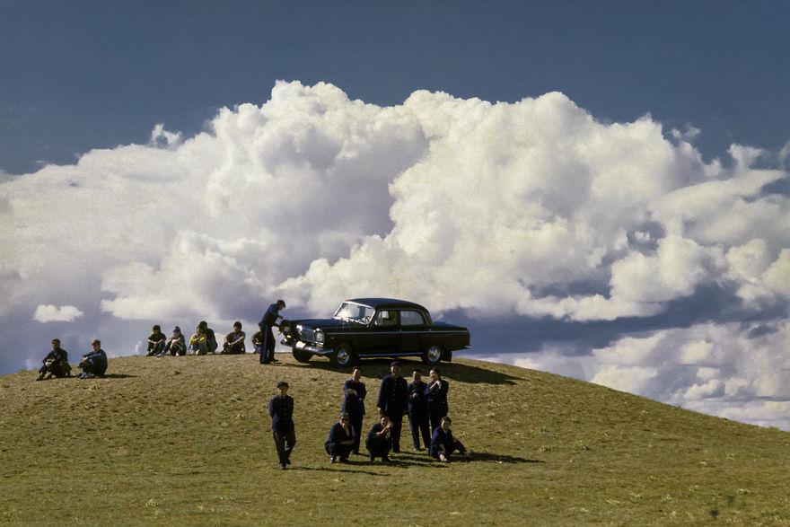 Prairie, Hohhot, Inner Mongolia, 1984