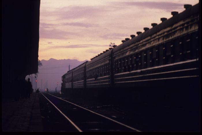 Hohhot Railway Station, Inner Mongolia, 1984