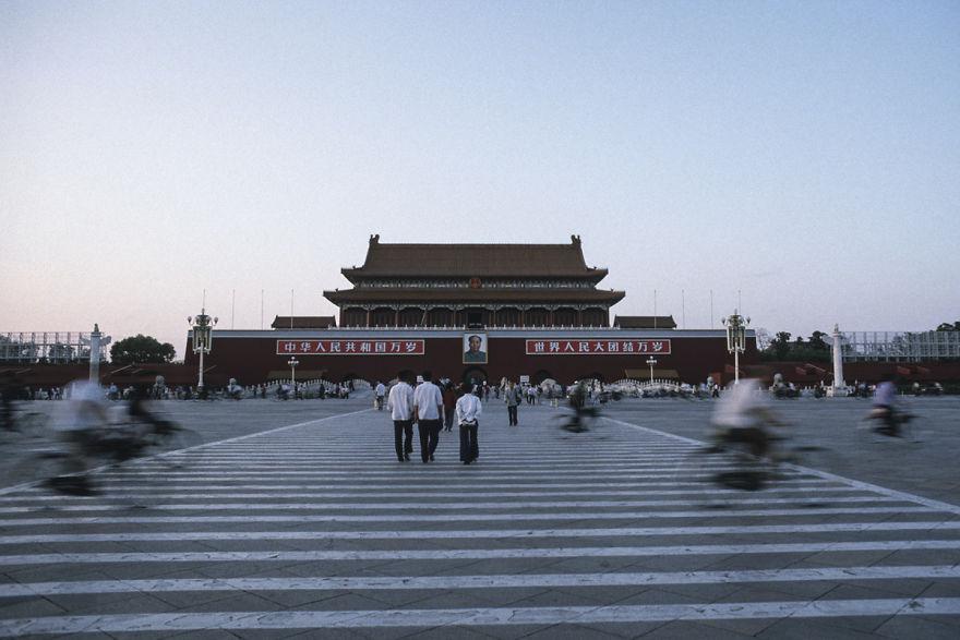 Tiananmen, Beijing, 1984