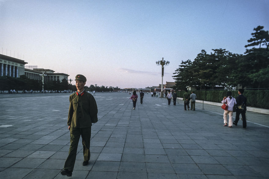 West Side Of Tiananmen Square, Beijing, 1984