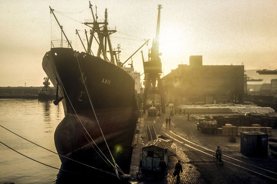 Port Of Dalian, Dalian, 1985