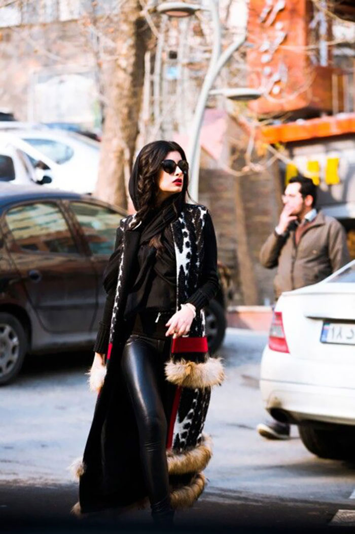 10+ Photos Of Iran's Street Fashion That Will Destroy Your