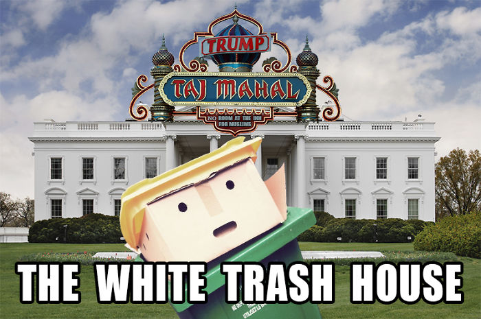 The White Trash House