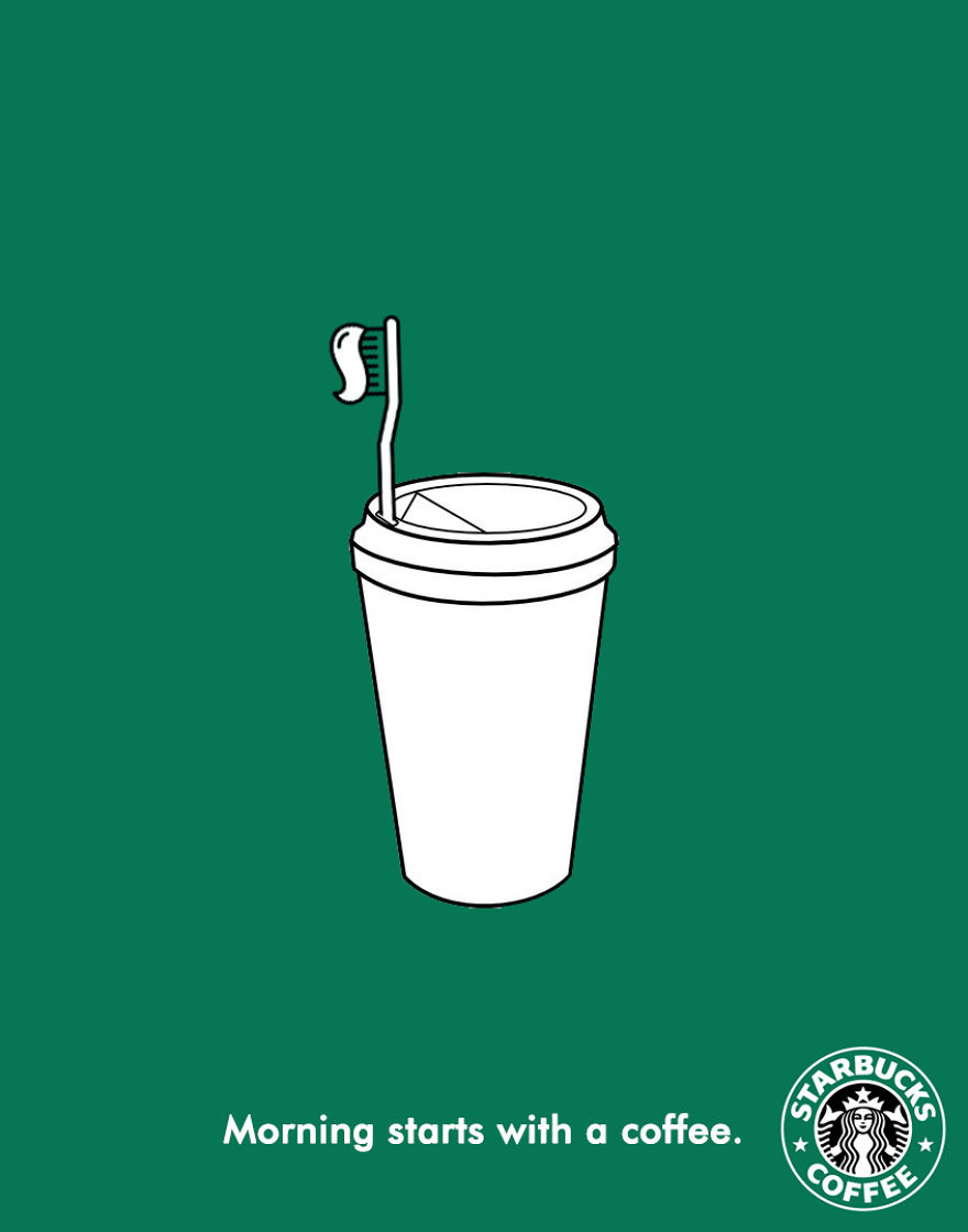 Best Coffee Print Ads