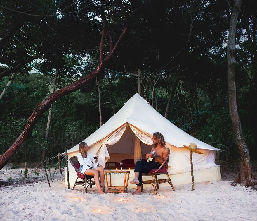 Koh Rong Samloem, Cambodia. More Awesome Camping And A Date Night