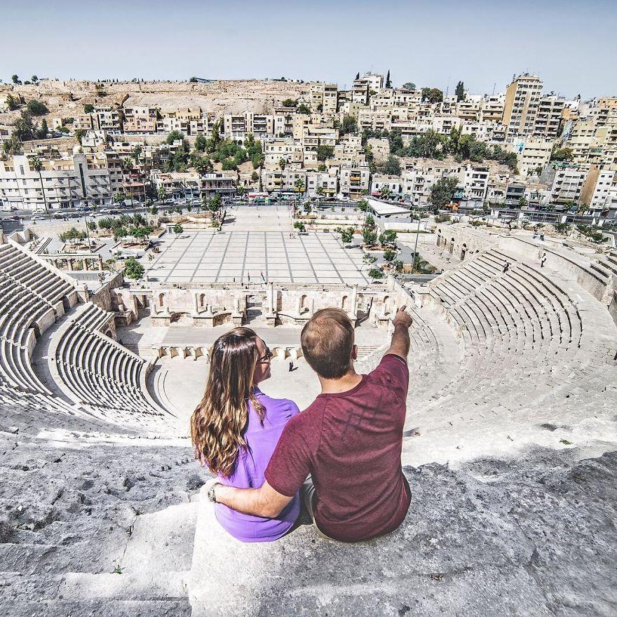 Roman Amphitheater Amman, Jordan