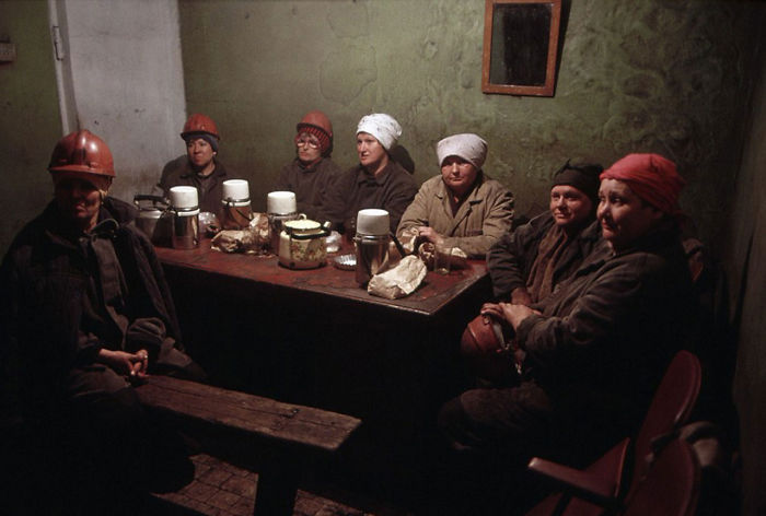 Female Miners In The Waning Days Of The Ussr