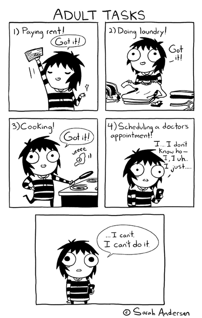 Adulthood Comics