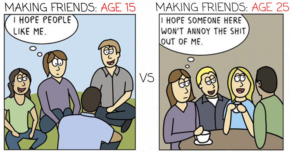 70 Comics That Sum Up My Life As An Adult