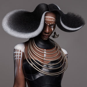 British Hair Awards 2016: This Finalist Afro Collection Is A Gorgeous Modern Tribute To African Culture