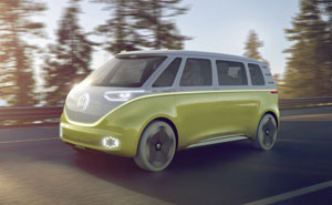 VW Unveils Self-Driving Microbus Of The Future And It's Even More Hippie Than The Original