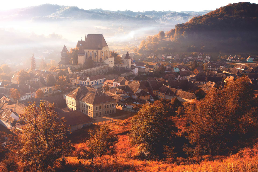 Does It Look Like A Village From France? Maybe. But It's In Romania