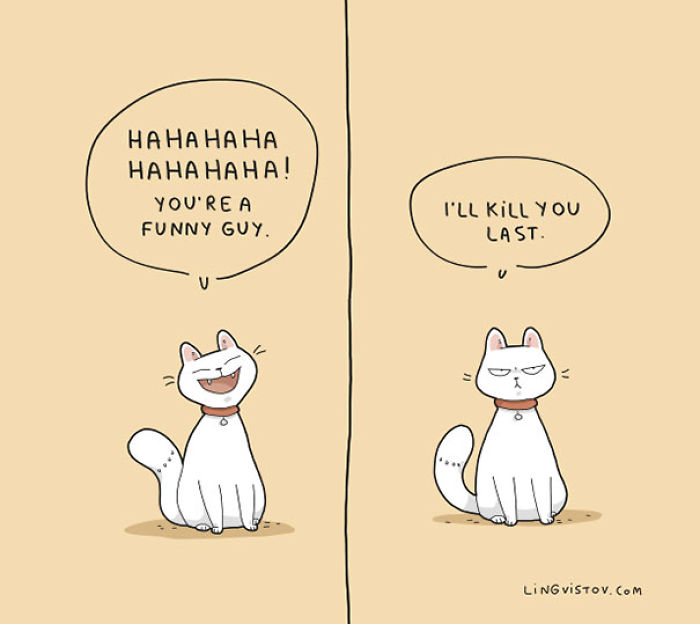 [20 Pictures] Best Funny Animal Comics By Russian Artist Duo Lingvistov