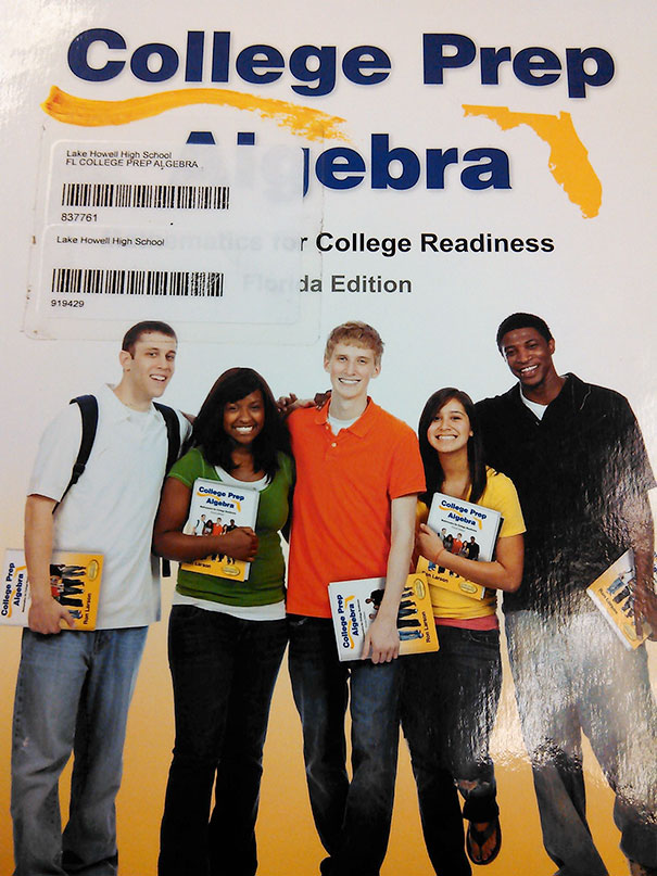 The Students In My Textbook Are Holding The Textbook They Are Modeling For