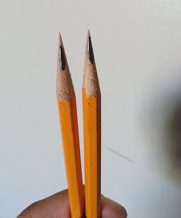 When Pencils Do This Garbage