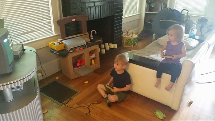 30+ Years Of Research Shows, If You Give A Kid A Nintendo, He Will Give His Little Sister An Unplugged Controller
