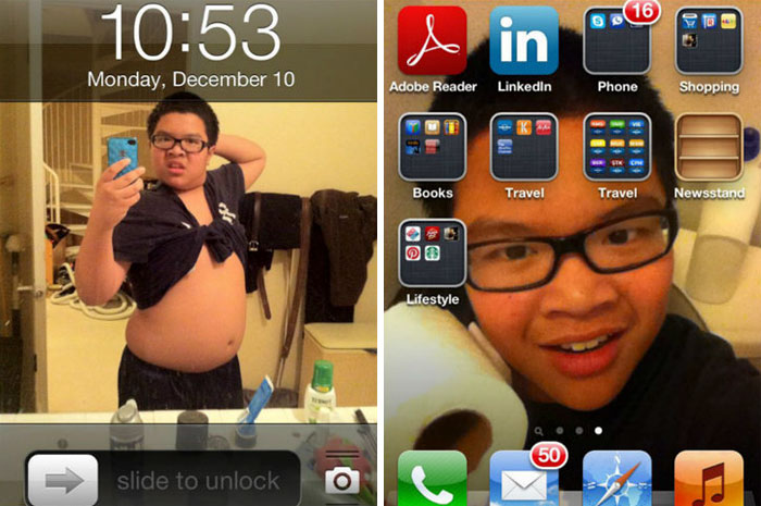 What My Brother Does With My Phone