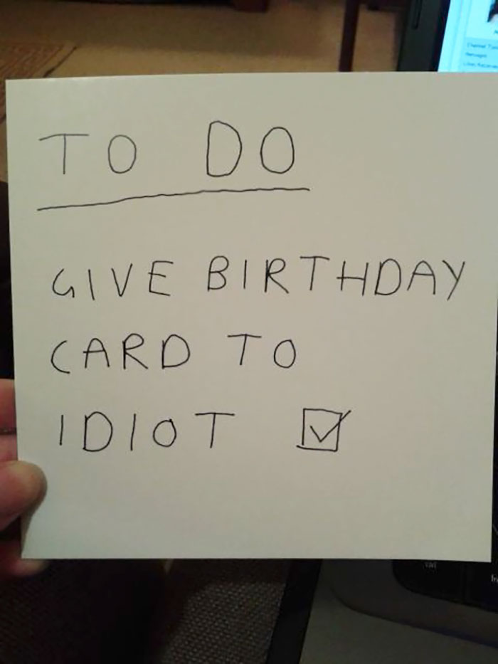 Birthday Card From My Brother. Feeling Loved