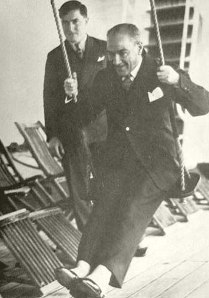 Ataturk On A Swing