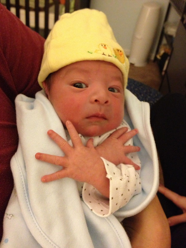 Your Baby Merely Adopted The Thug Life, My Nephew Was Born In It, Molded By It