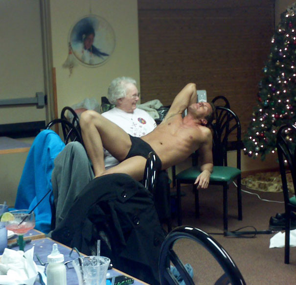 Strangest Party I've Ever Been To. Happy 80th, Grandma!