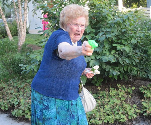 Grandma With A Gun
