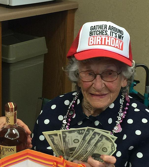 My Great Grandma Turned 91