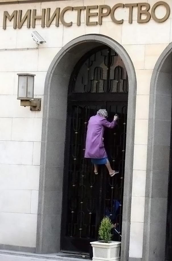 Spider-Granny?