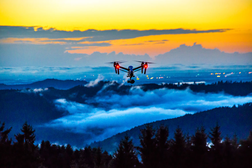 Drone In Use, Third Prize In Professional Drones In Use Category