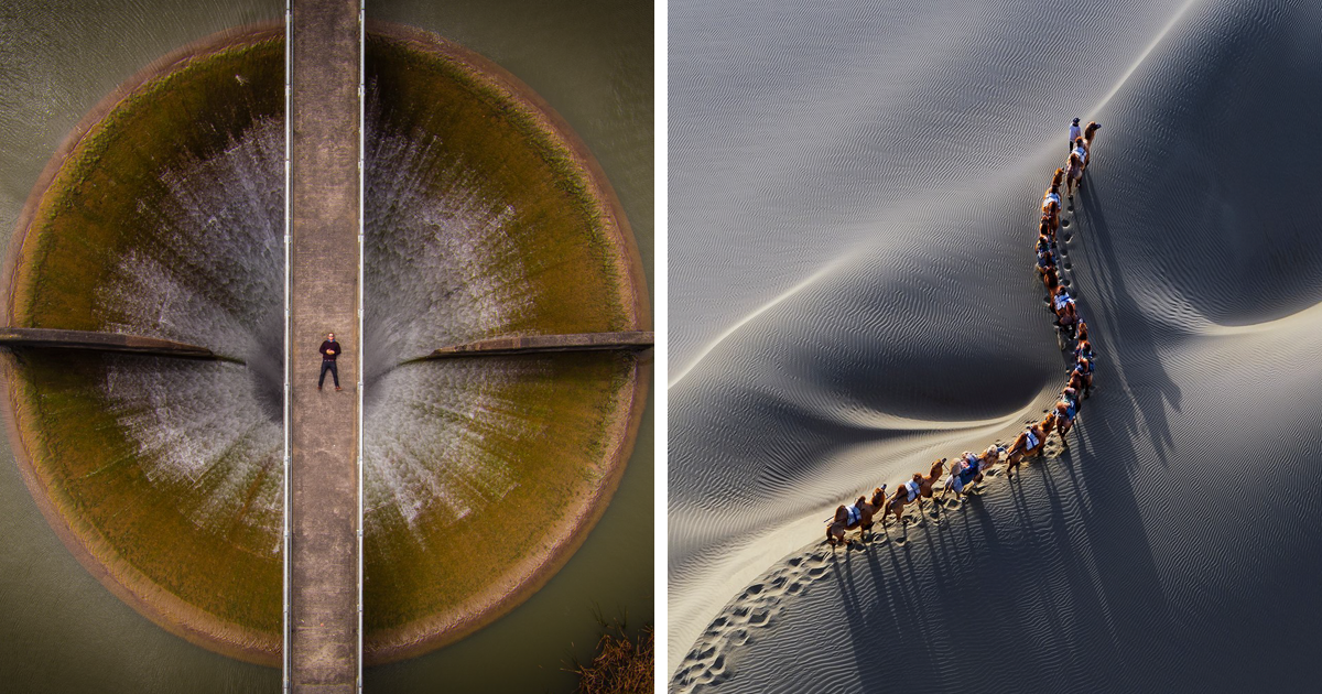 10+ Of The World's Best Drone Photos, Selected From 27,000 Entries