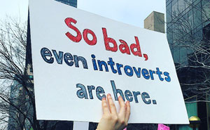 10+ Of The Best Signs From Women's Marches Around The World