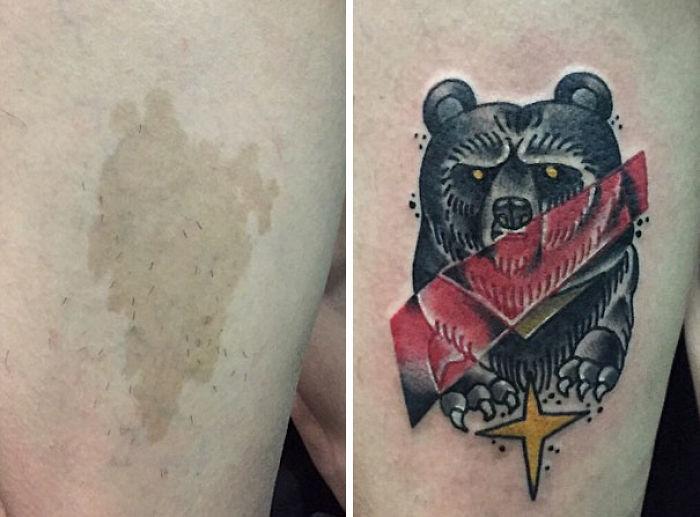 Bear Birthmark Cover Up