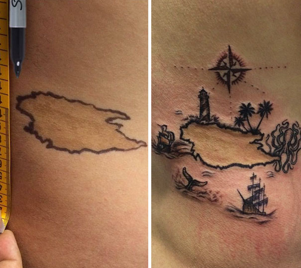 From A Mole To An Island
