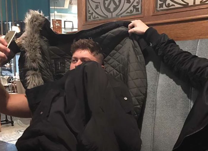 Boyfriend Tricks His Girlfriend Into Thinking He Was In Bed When He Was Actually In The Pub