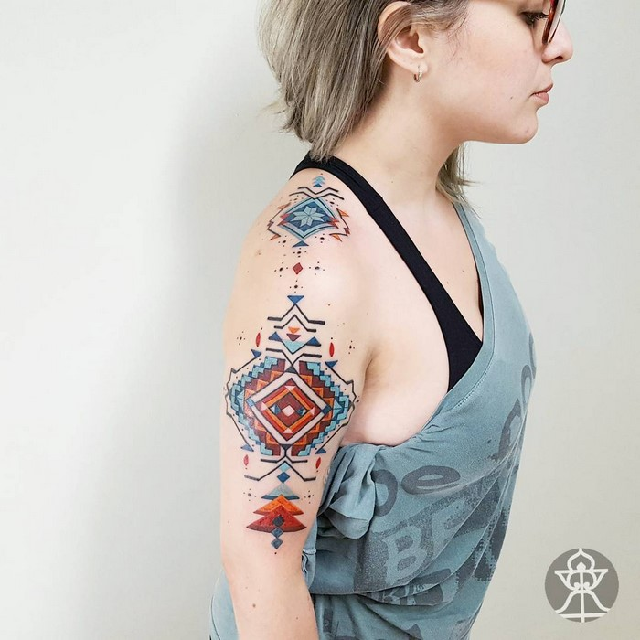 Tattoos Inspired By Amazonian Tribes