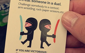 7+ Sneaky Cards To Make Strangers' Day Better