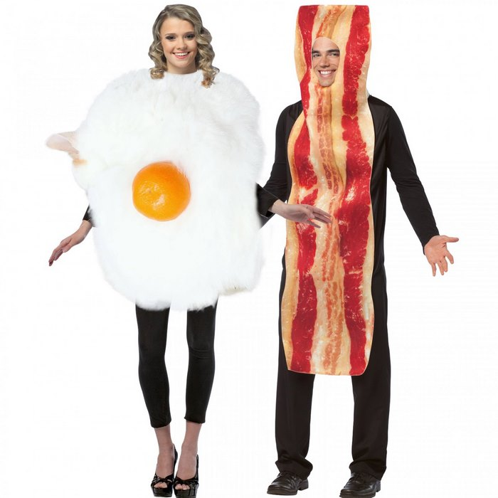 The All New And Cosy Adult Fried Egg Costume