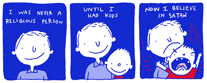 27 Of My Funniest Comics About Kids