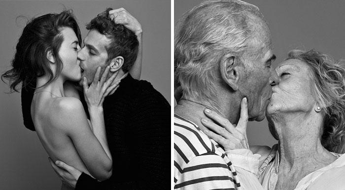 Personas besándose apasionadamente: ¿puedes diferenciar a las parejas reales de los amigos?