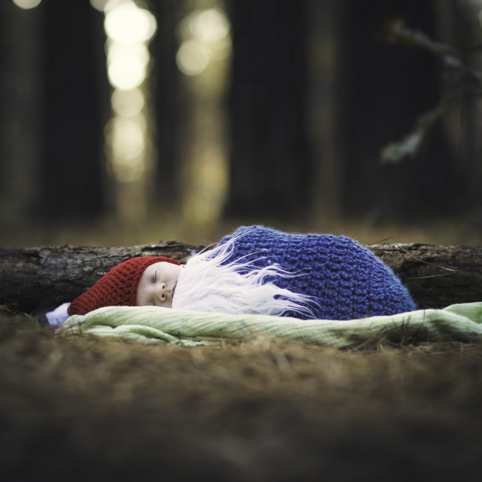 I Was Asked To Do An Infant Photo Session In The Forest And The Results Are Adorable