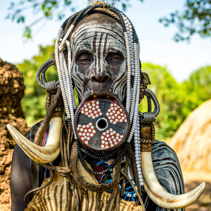 I Documented The Beauty Of The Women Of Omo Tribes