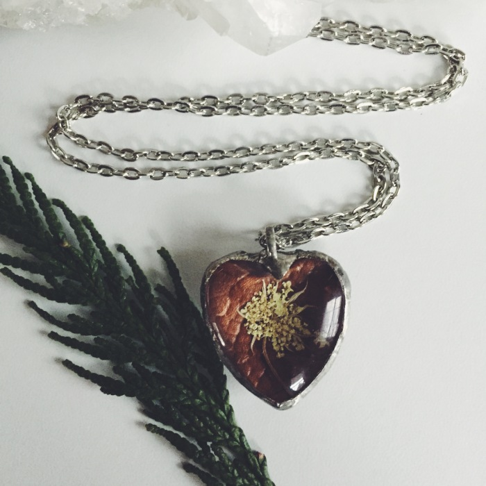 Jewelry With Real Flowers That I Create Inspired By Nature