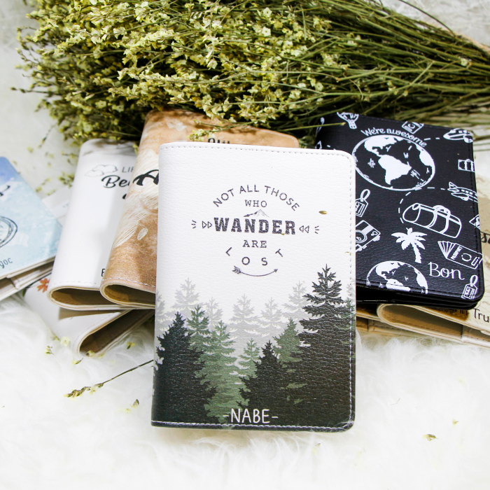 Artist Designs Passport Holders That Inspire You To Travel