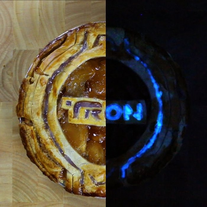 "I Created The World's First Completely Edible ""Glow Pie"""