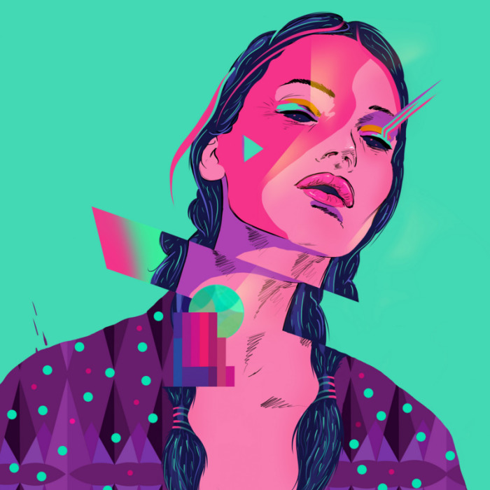 Colorful Illustrations By Cetin Yildiz