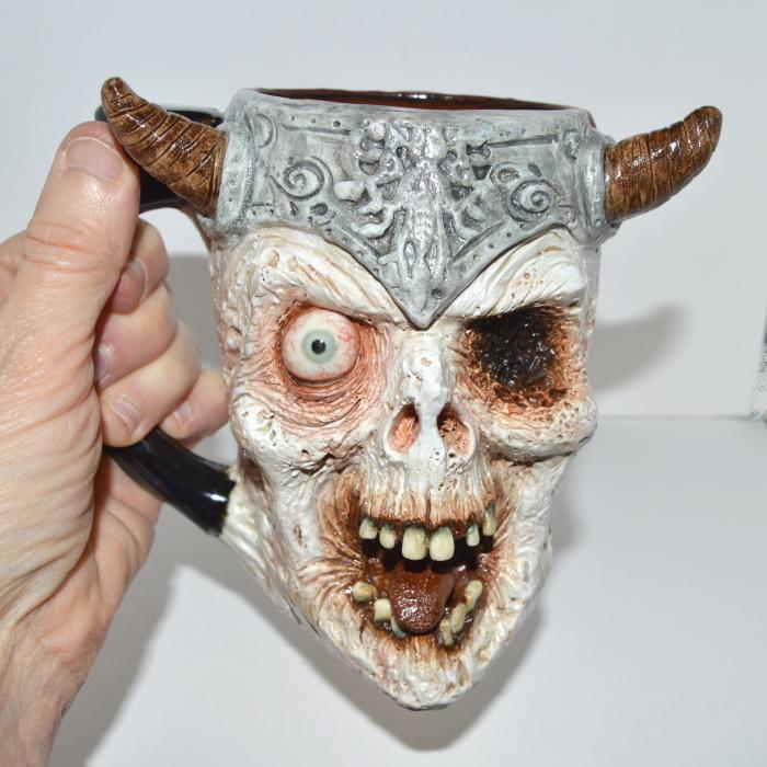 We Make Creepy Beer Mugs In Gruesome Detail