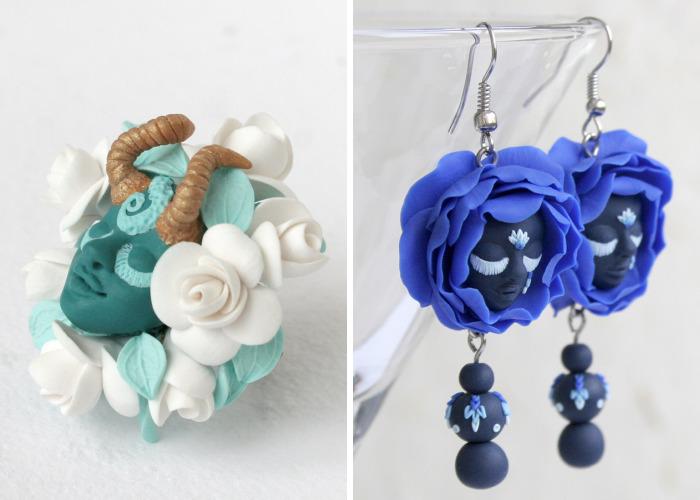 I Hide Fairies In My Dreamy Jewelry Designs
